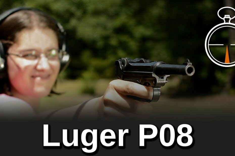 Minute of Mae: Luger P08