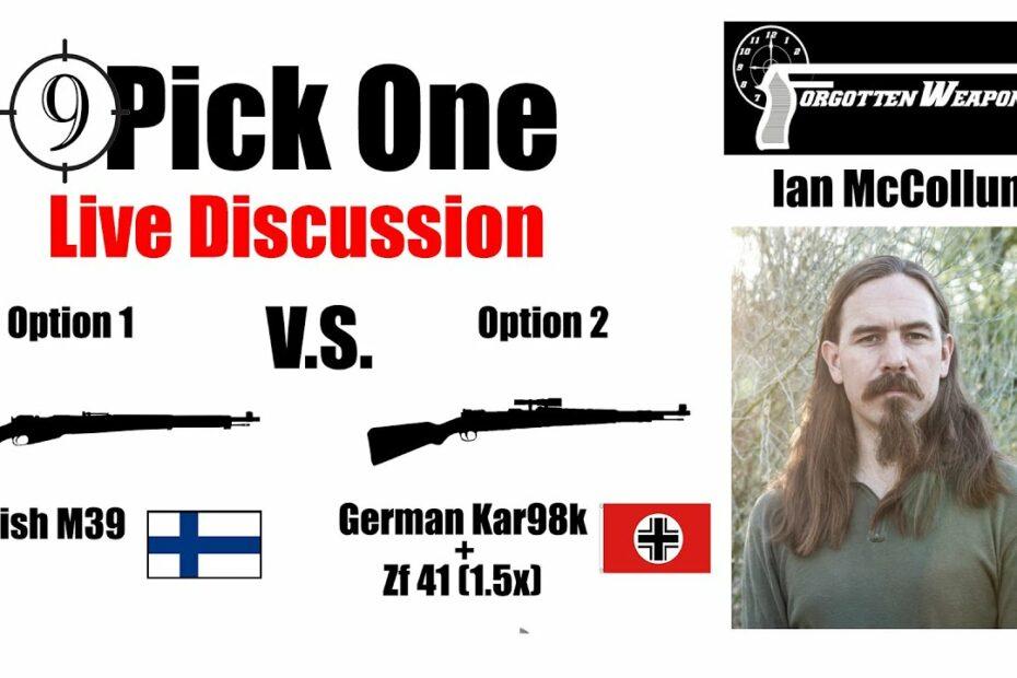 🔴 Pick One Ep. 2 [Finnish Ski Patrol] 🔴 Ian McCollum (Forgotten Weapons) on the Winter War in WW2