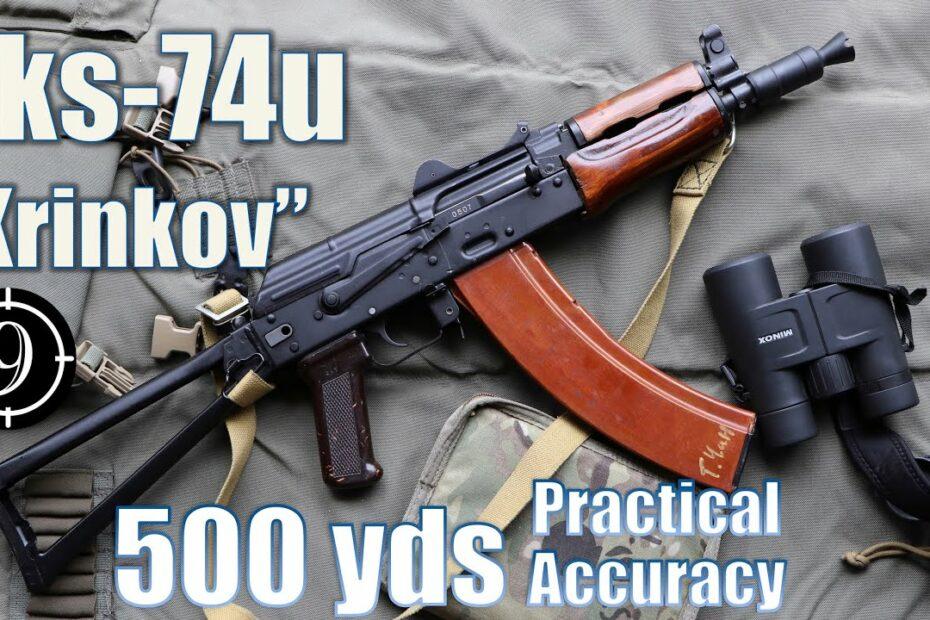 "AKs74u ""Krinkov"" to 500yds: Practical Accuracy"