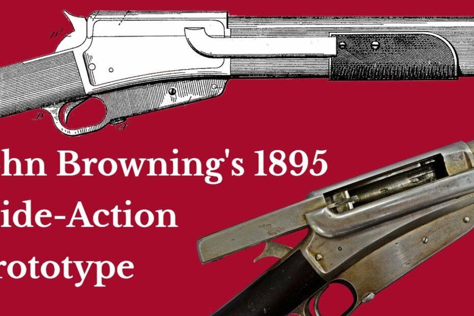 John Browning's 1895 Slide Action Rifle Prototype