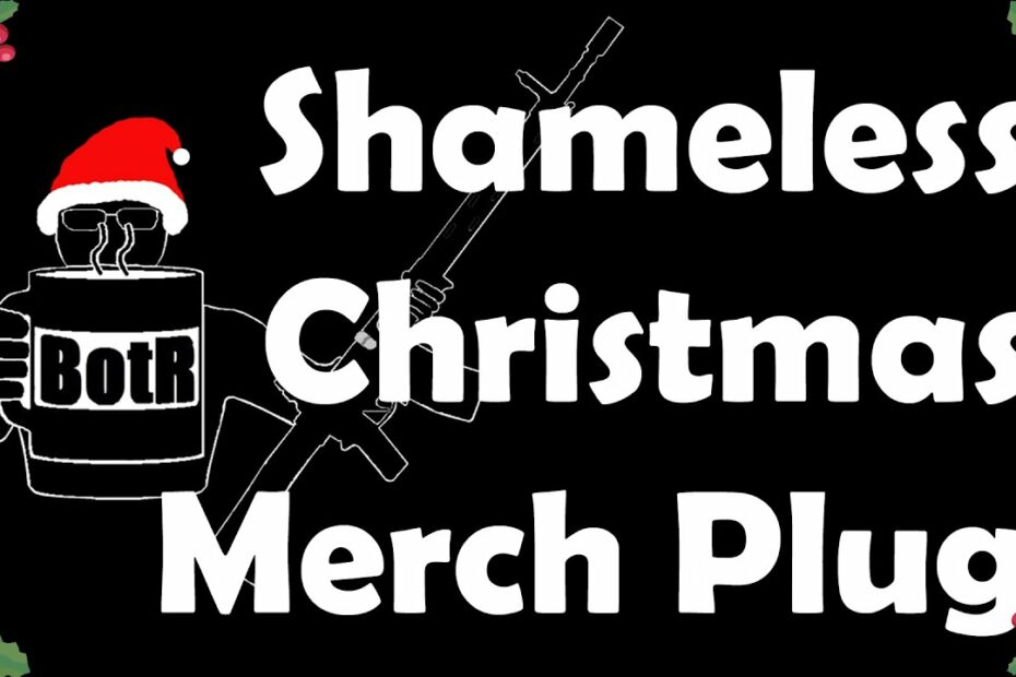 Shameless Christmas Merch Plug