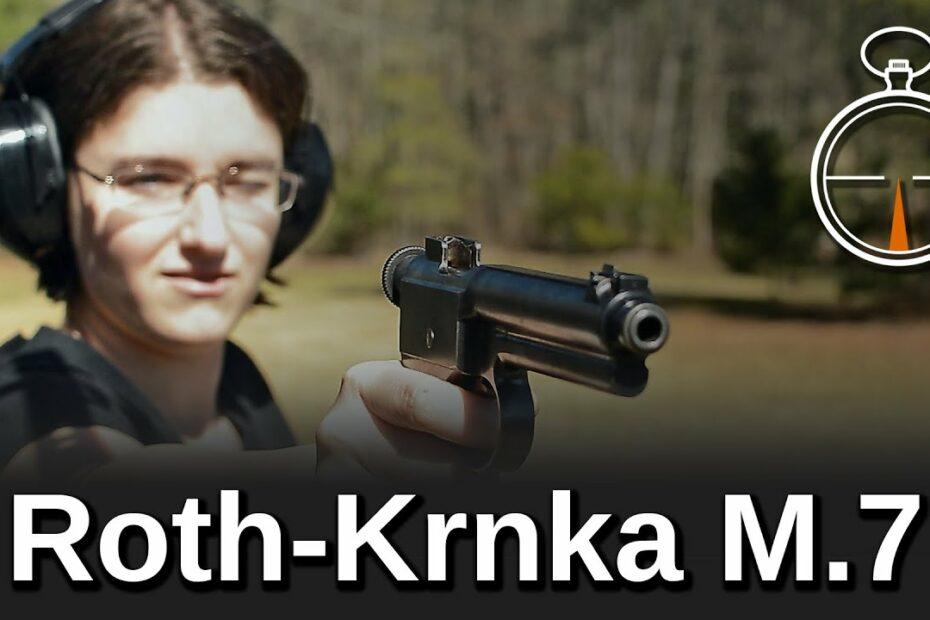 Minute of Mae: Roth-Krnka M.7 Pistol