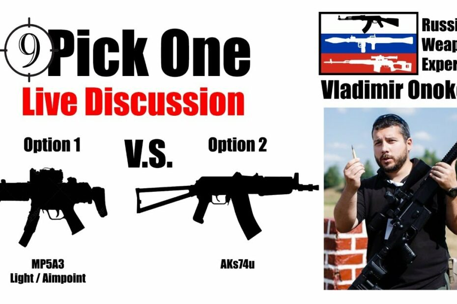 🔴 Pick One Ep. 3 [Embassy Security] 🔴 Vladimir Onokoy (Russian Weapons Specialist)