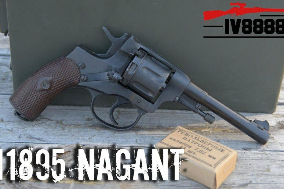 Russian M1895 Nagant Revolver