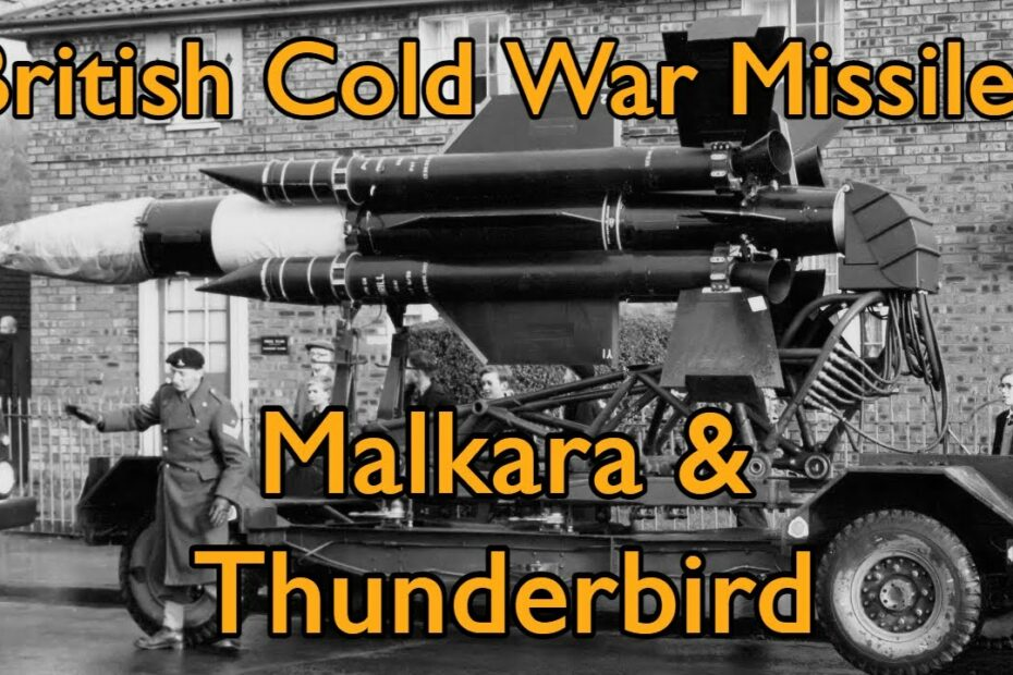 TAB Short: British Cold War Missiles – Malkara & Thunderbird