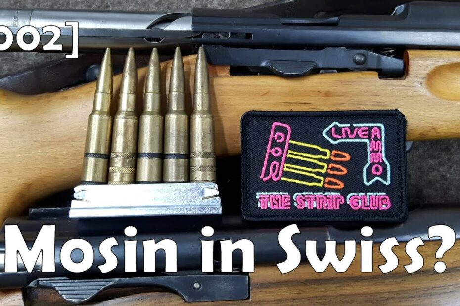 [002] BotR Strip Club: Mosin Charger With 7.5mm Swiss? K31 / M1911 / G11 / G96/11 / K11