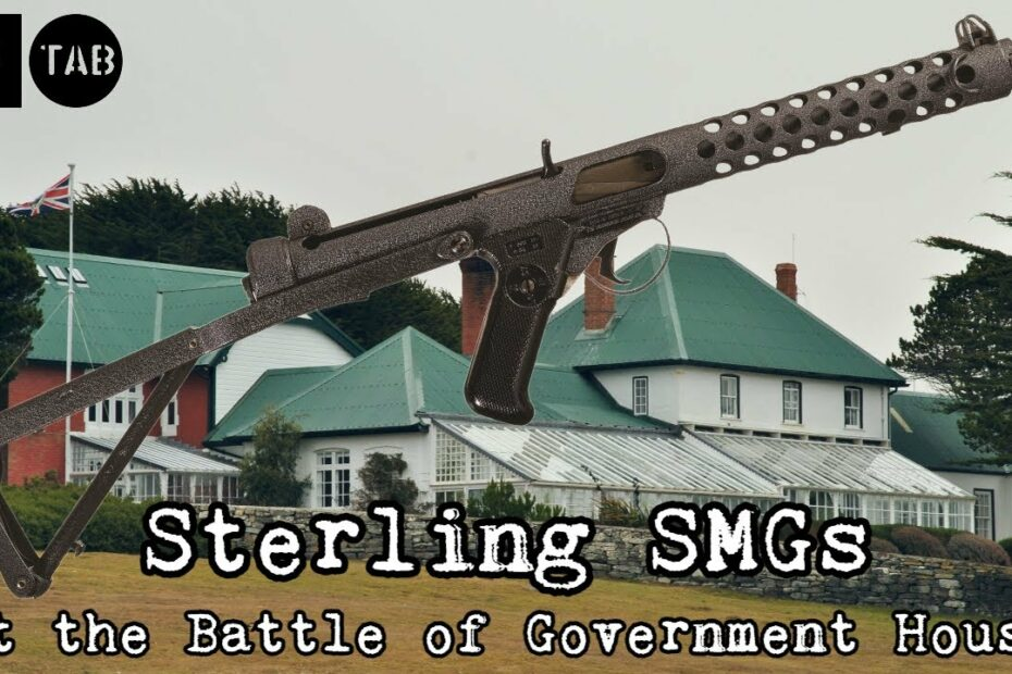 Sterling SMGs at the Battle of Government House