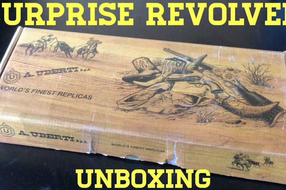 Surprise Unboxing: A New Revolver for the Channel