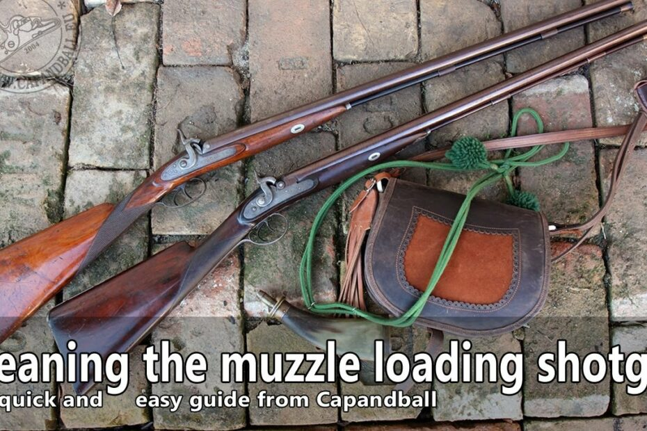 How to clean your muzzle loading shotgun