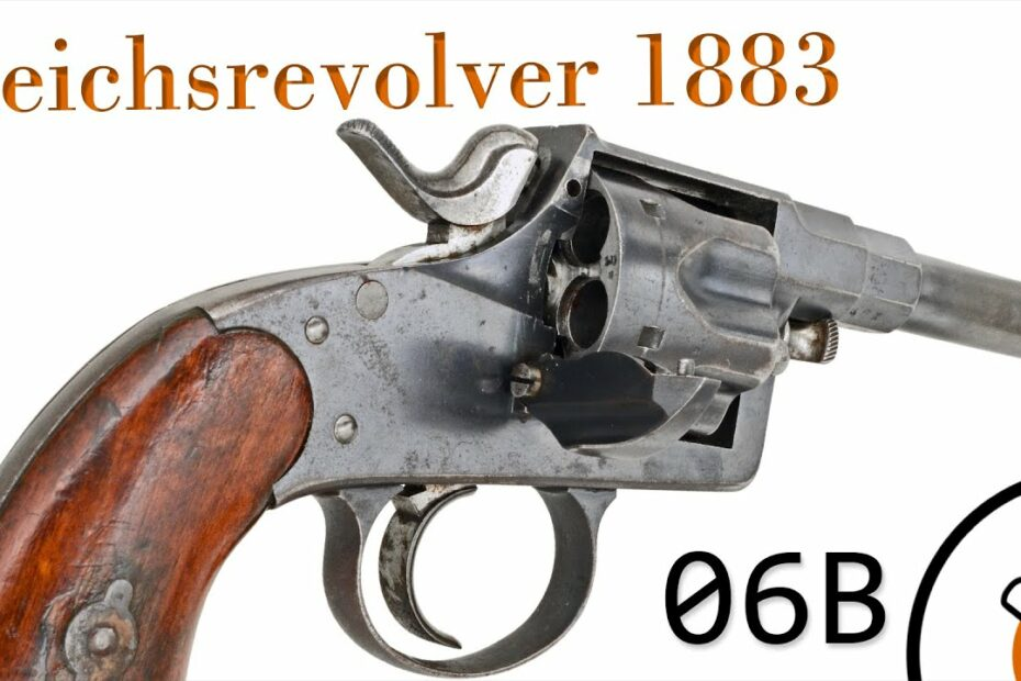 Small Arms of WWI Primer 06B*: German Reichsrevolver M1883