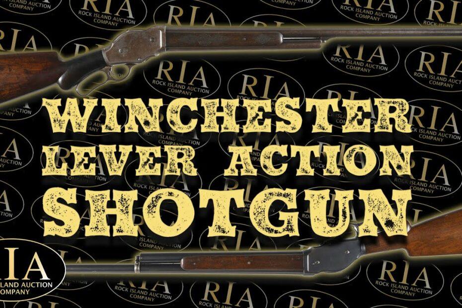 Winchester's Lever Action Shotguns