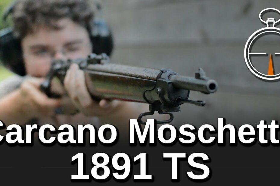 Minute of Mae: Carcano Moschetto 1891 TS