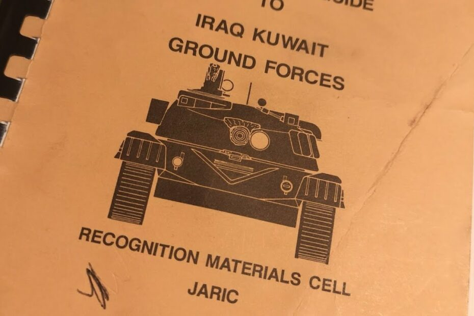 Gulf War Vehicle Recognition Guide #Shorts
