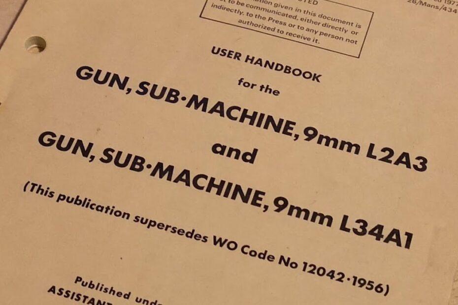 Sterling SMG User Handbook #Shorts