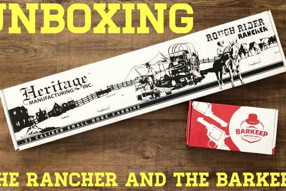Unboxing The Heritage Rancher and Barkeep