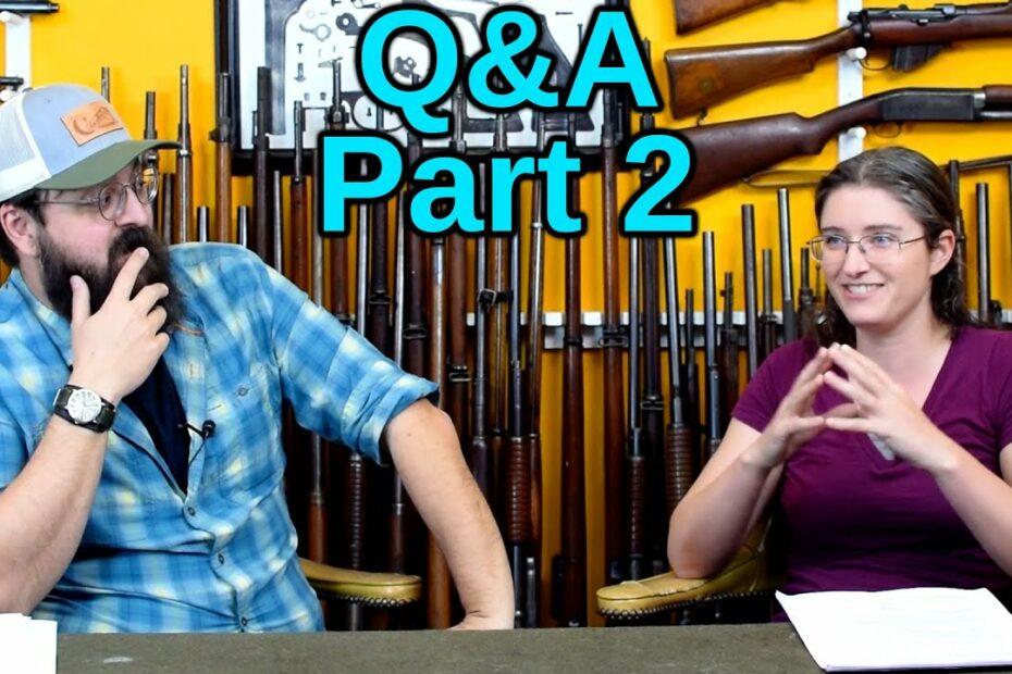 Q&A – Part 2