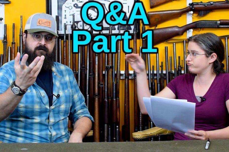 Q&A – Part 1
