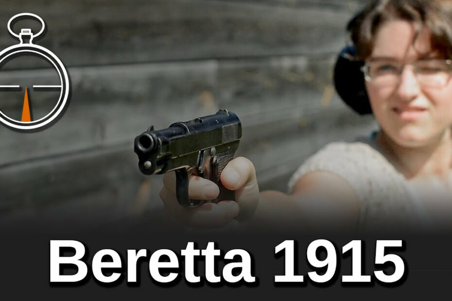 Minute of Mae: Beretta 1915
