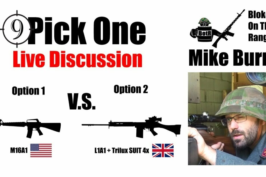 🔴 Pick One Ep. 4 [Falklands Airfield Sabotage] 🔴 [Bloke On the Range] + Marty Morgan (Historian)