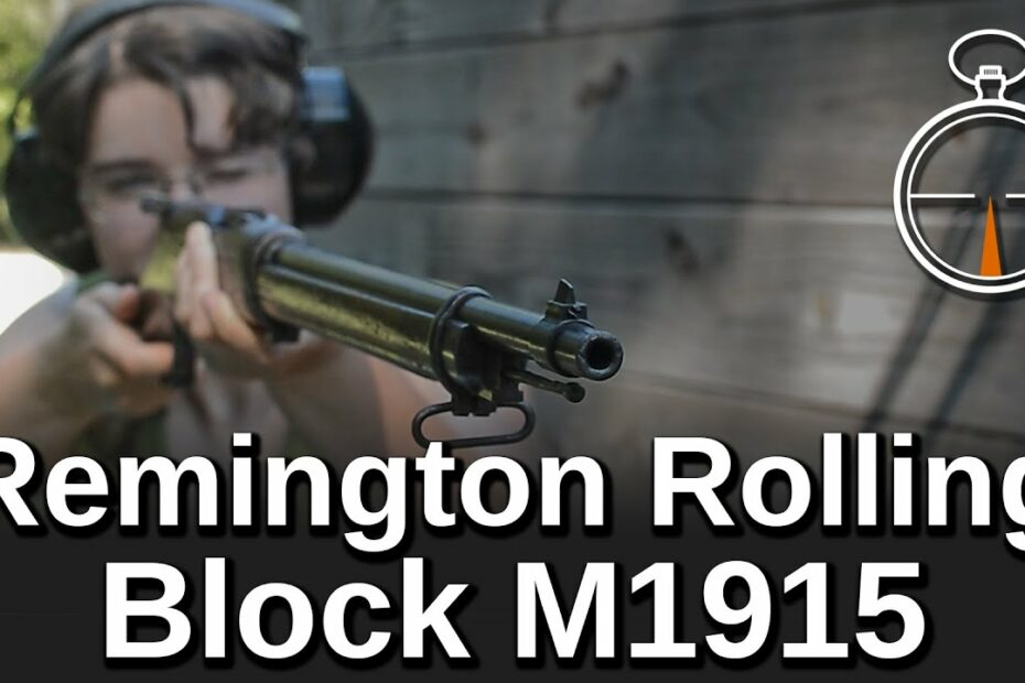 Minute of Mae: Remington Rolling Block M1915