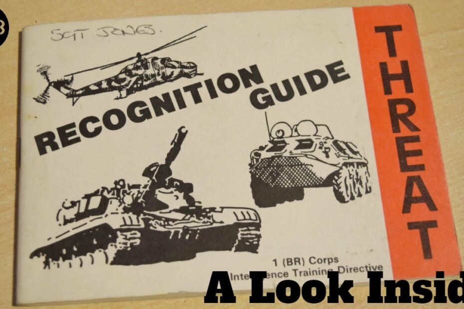 Cold War British Army Threat Recognition Guide – Soviet Tanks, APCs, Aircraft