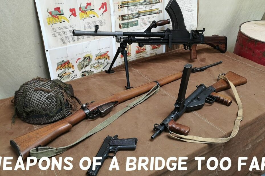 British Airborne Weapon's in A Bridge Too Far #Shorts