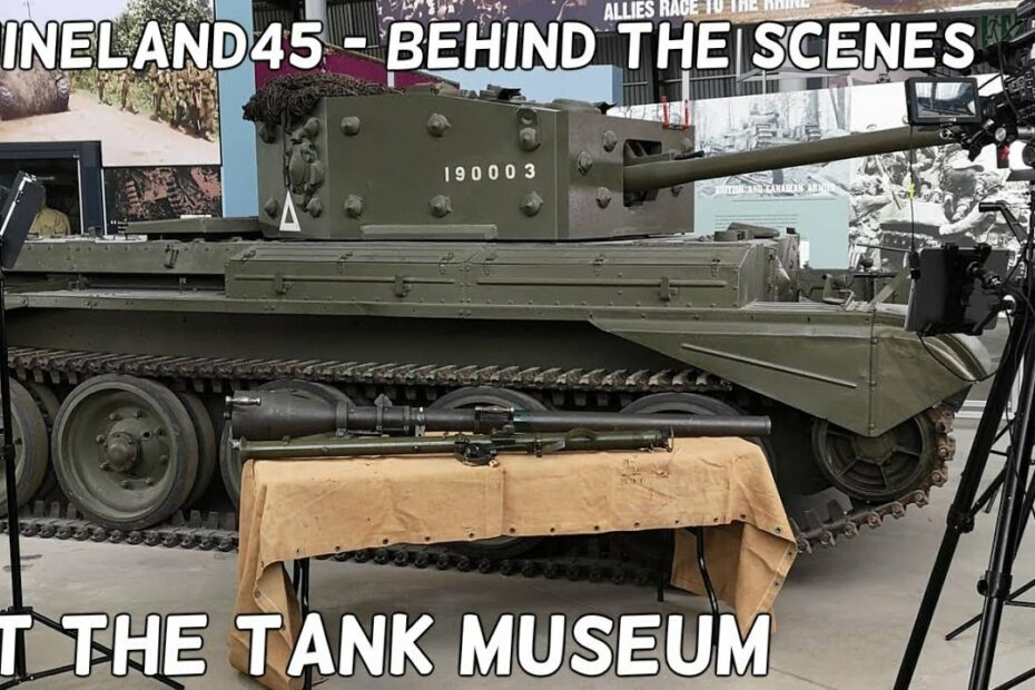 #Rhineland45 – Behind the Scenes at the Tank Museum