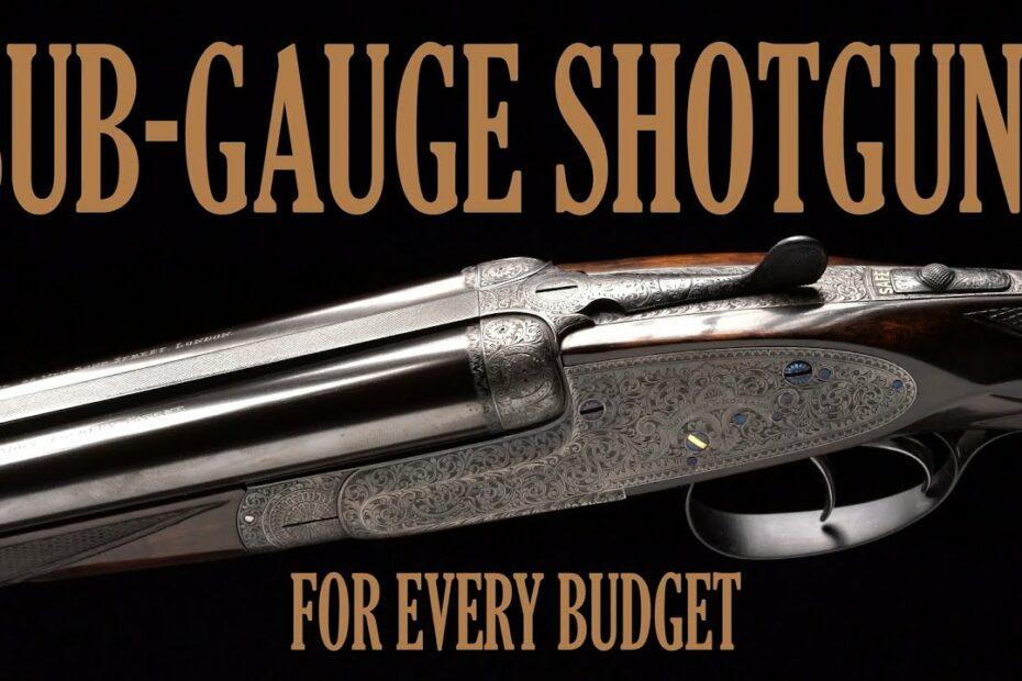 Sub-Gauge Shotguns for Every Budget