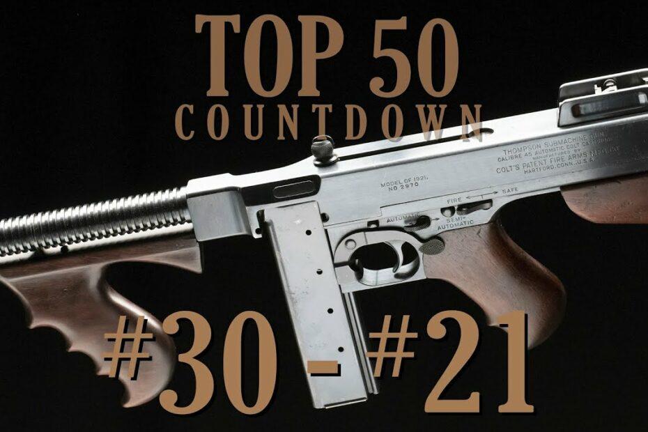 Top 50 Guns: 30-21 (May 2021)
