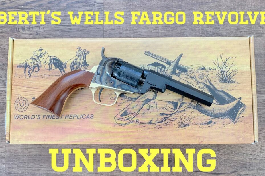 "Unboxing The ""Wells Fargo"" Pocket Revolver"