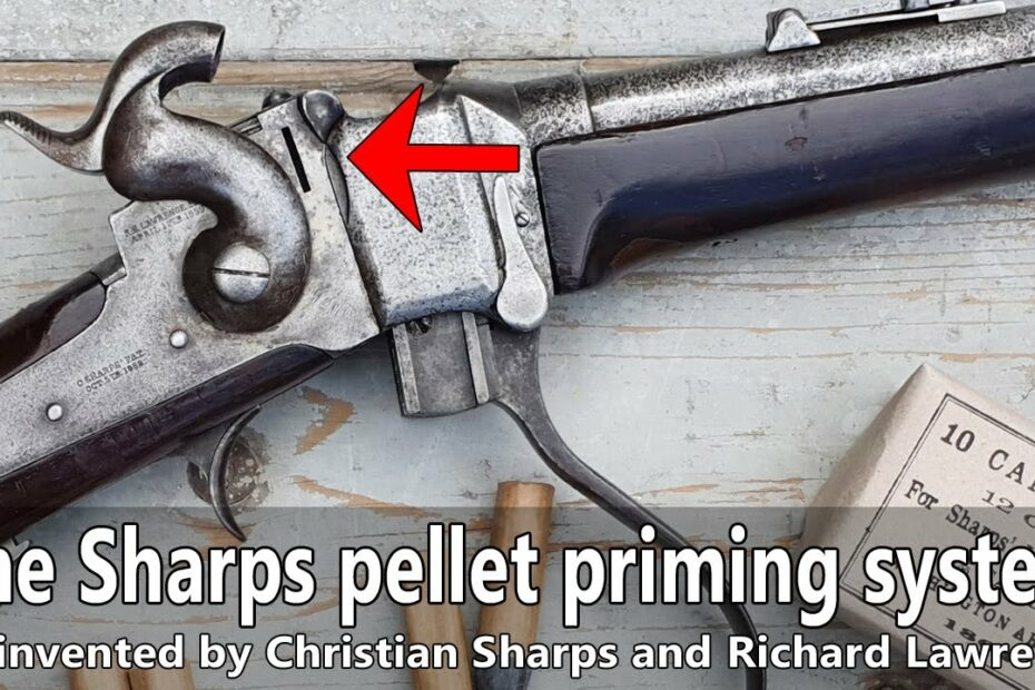 How the pellet priming system works on an original 1863 M Sharps percussion carbine