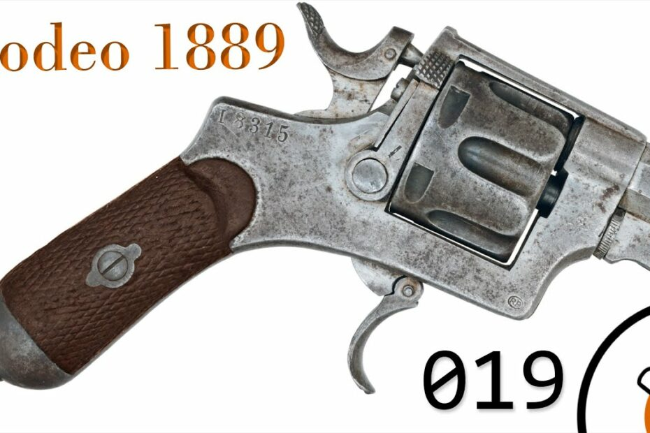Small Arms of WWI Primer 019*: Italian Bodeo 1889