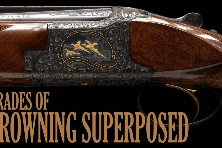 Grades of Browning Superposed Shotguns