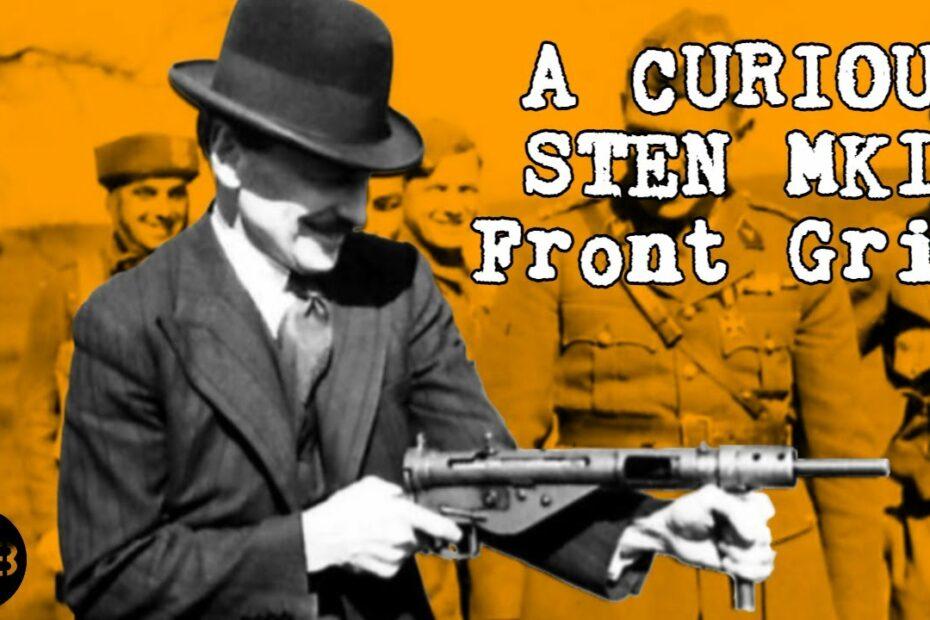 Clement Attlee's Curious MkII STEN Front Grip