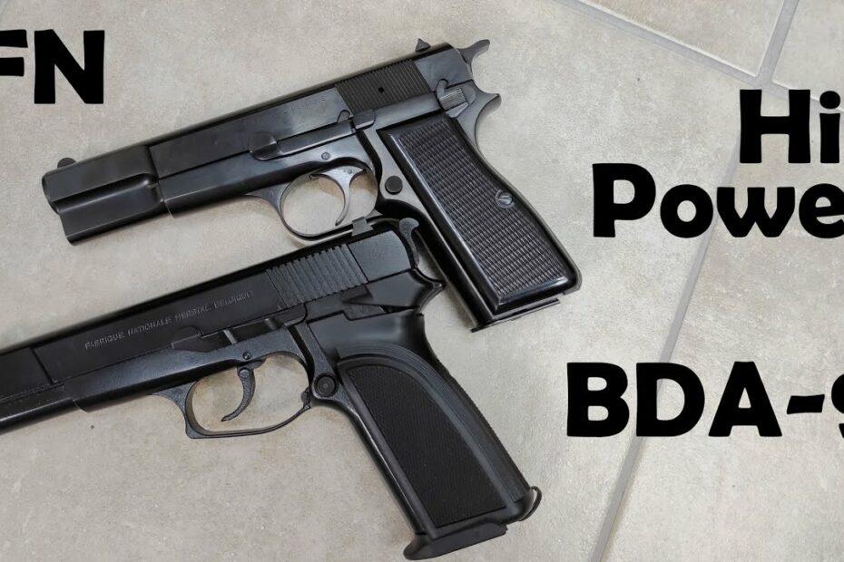 FN Browning Hi-Power vs BDA-9 On The Range