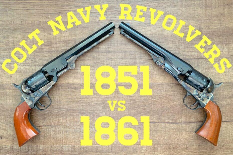 Colt Navy Revolvers: 1851 vs. 1861