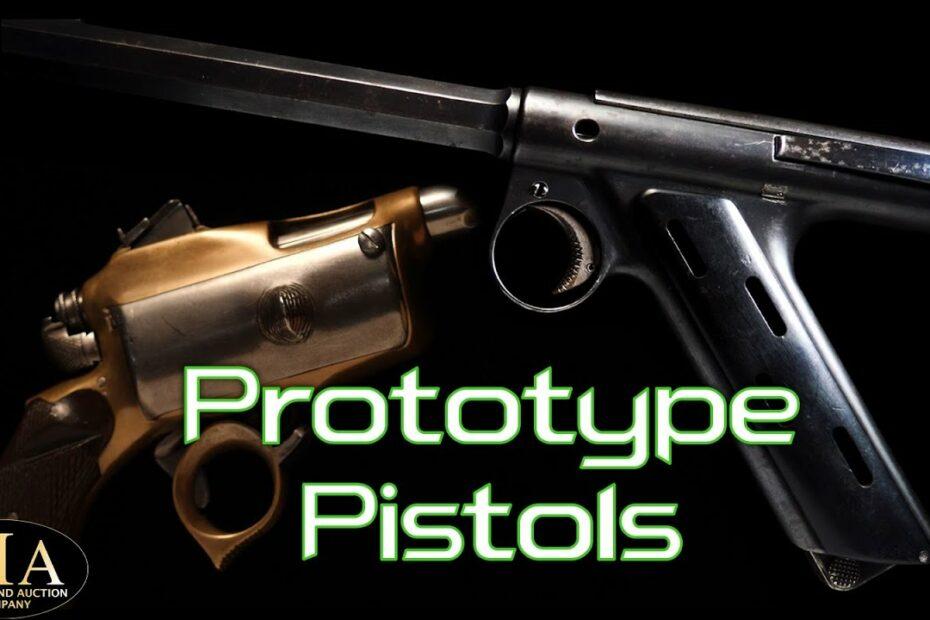 Bizarre Prototype Pistols