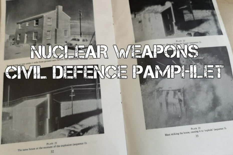 NUCLEAR WEAPONS – Civil Defence Pamphlet #Shorts