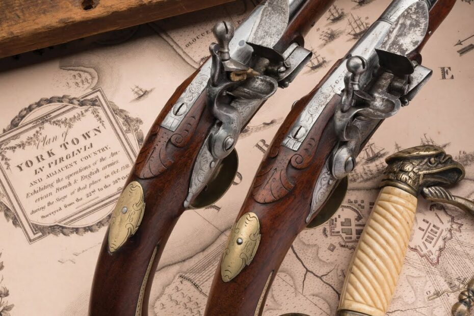 Alexander Hamilton's War Pistols Sell For…
