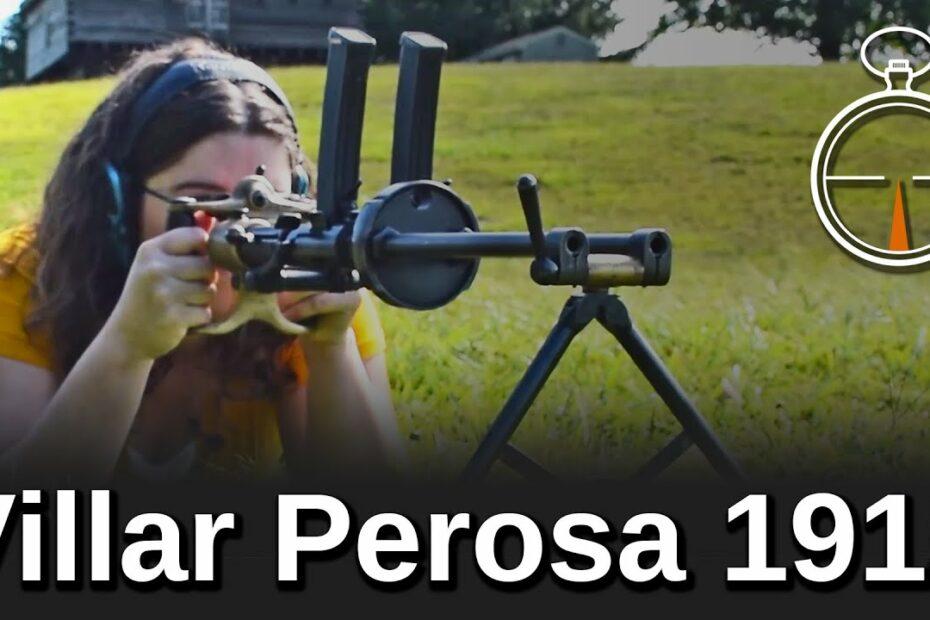 Minute of Mae: Villar Perosa 1915