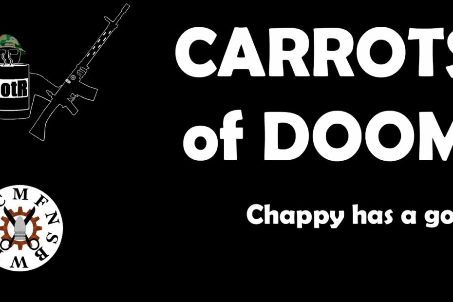 Chappy launches Carrots of DOOM