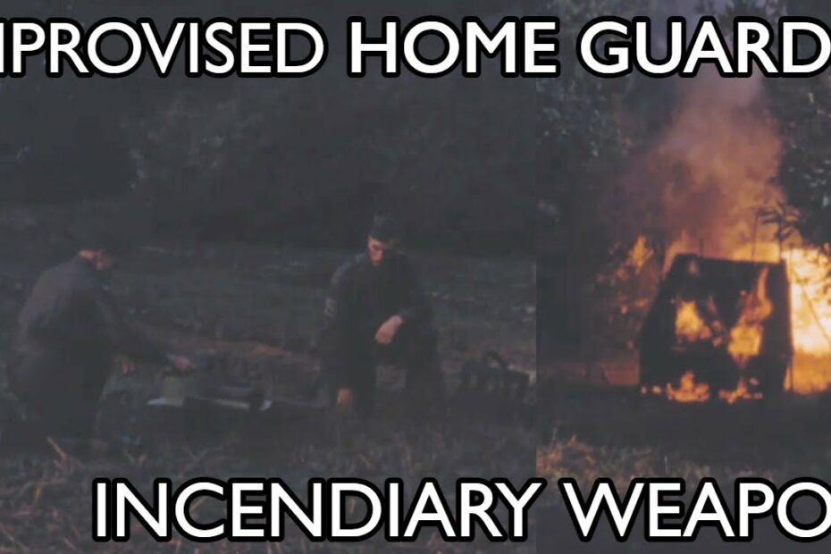 Home Guard Improvised Incendiary Weapon