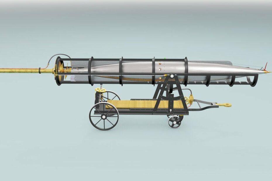 Royal Laboratories 16 inch Torpedo, 1876 (revised)
