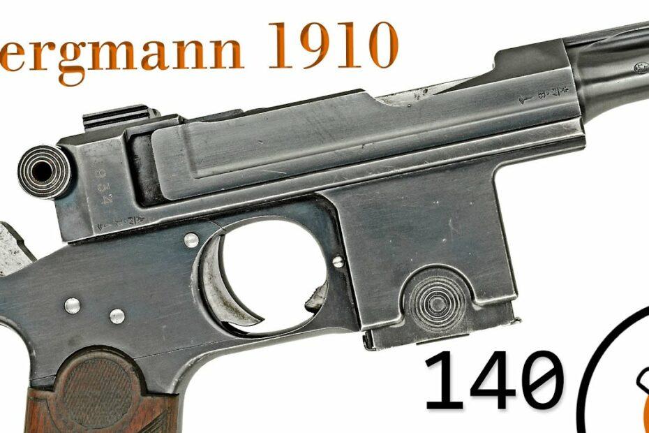 Small Arms of WWI Primer 140: Danish Bergmann 1910