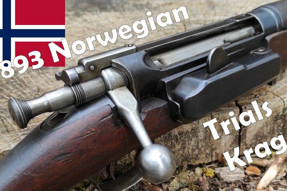 1893 Norwegian Krag-Jorgensen Trials Rifle S/N 8, 6.5×55