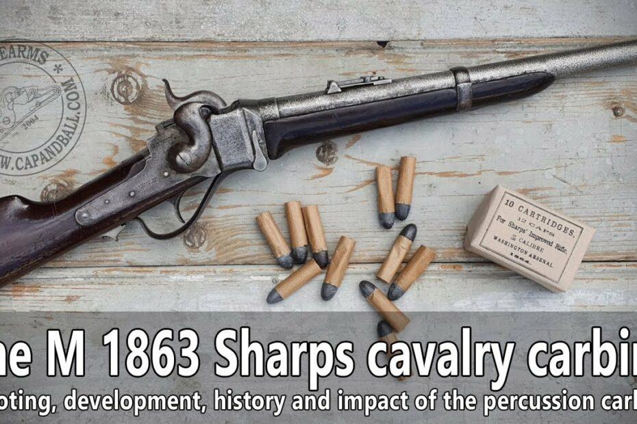 The 1863 Sharps cavalry carbine