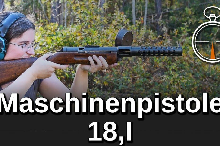 Minute of Mae: Maschinenpistole 18,I