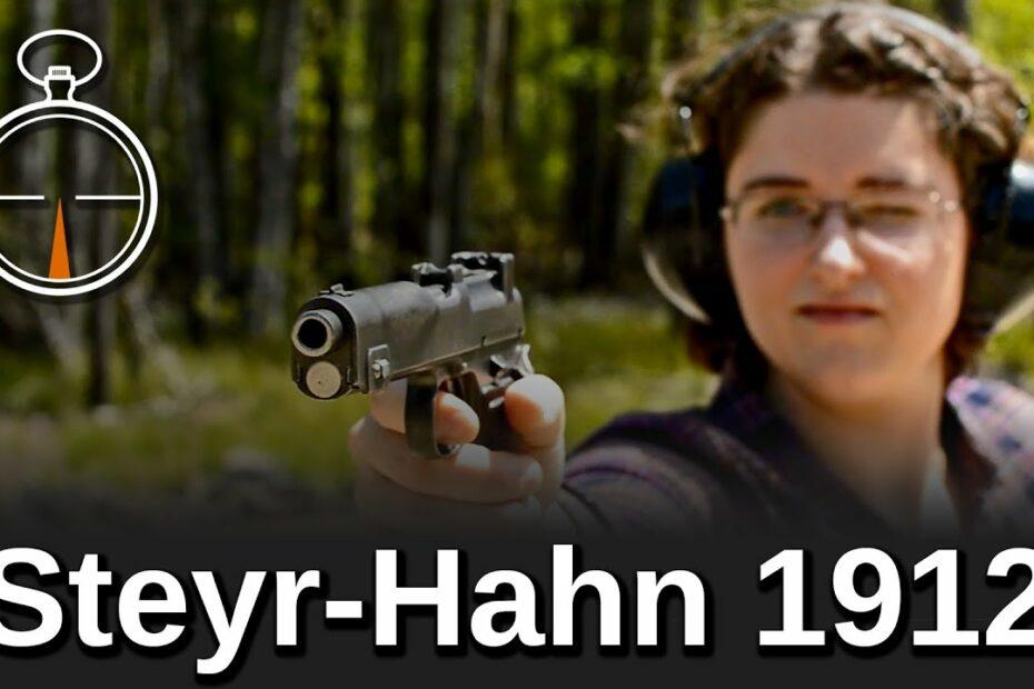 Minute of Mae: Steyr-Hahn 1912
