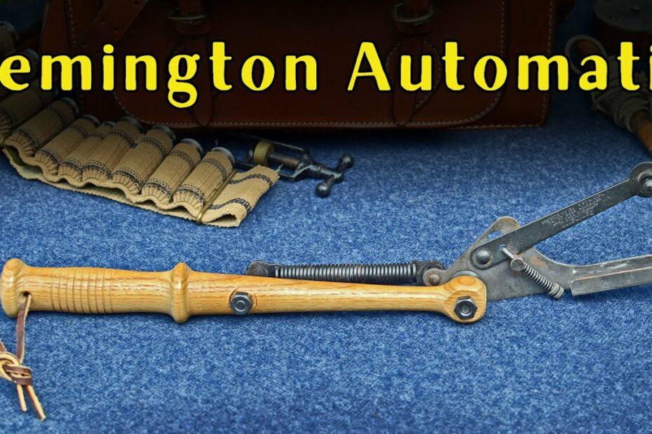 It's a Trap! 014: Remington Automatic Hand Trap