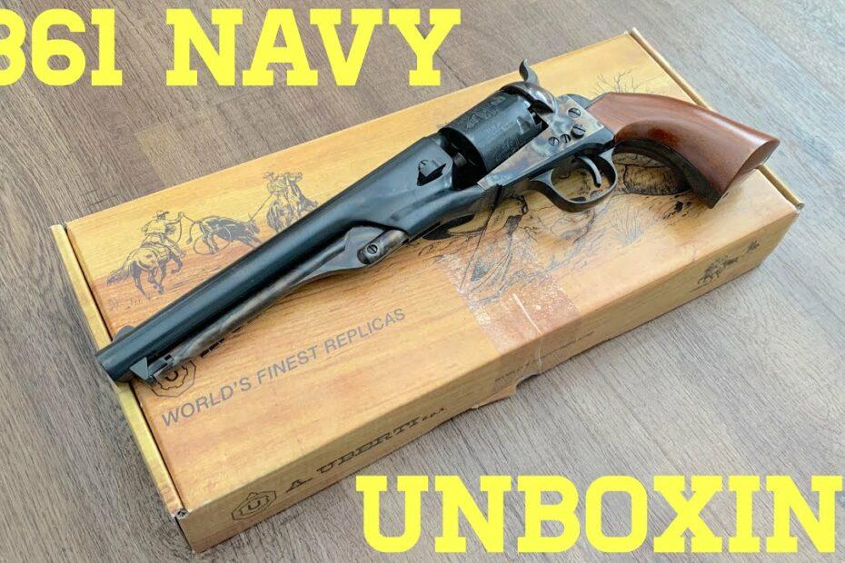Unboxing Uberti's 1861 Navy Revolver